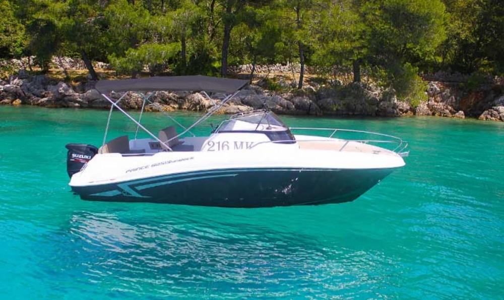 Motorboot mit oder ohne Skipper Prince mieten in Malinska