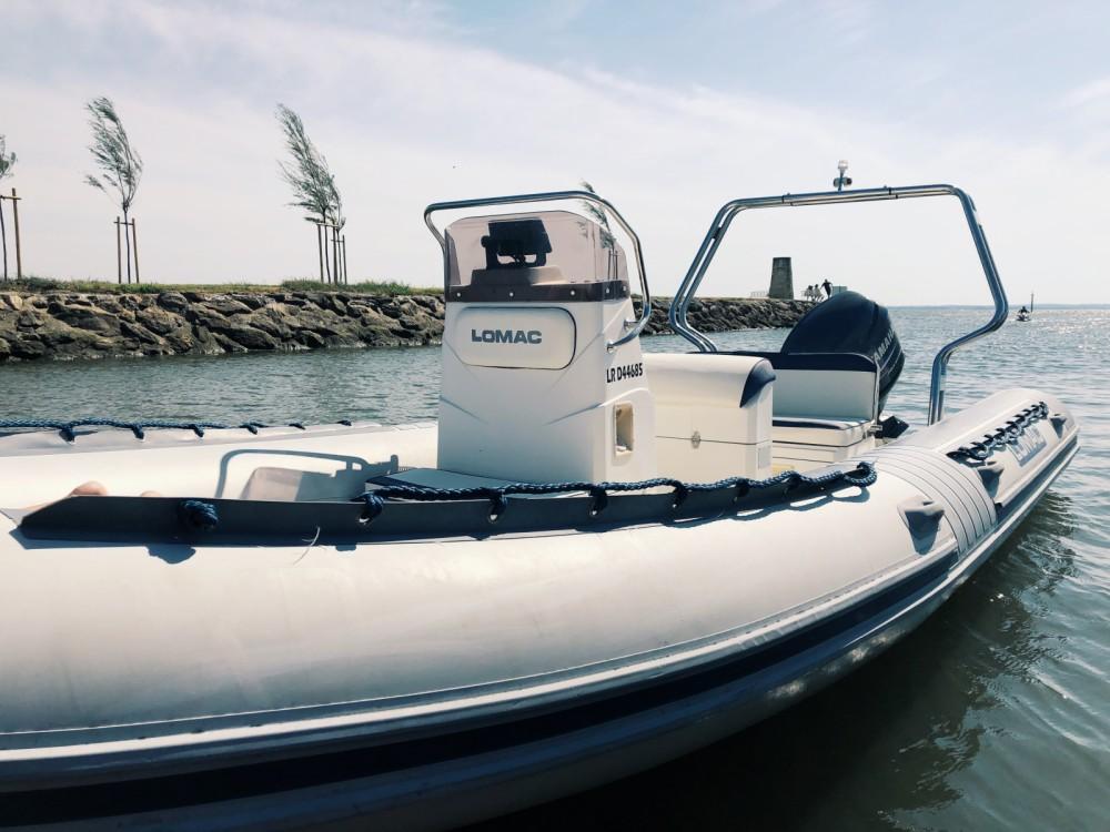 Schlauchboot mit oder ohne Skipper Lomac mieten in Arcachon