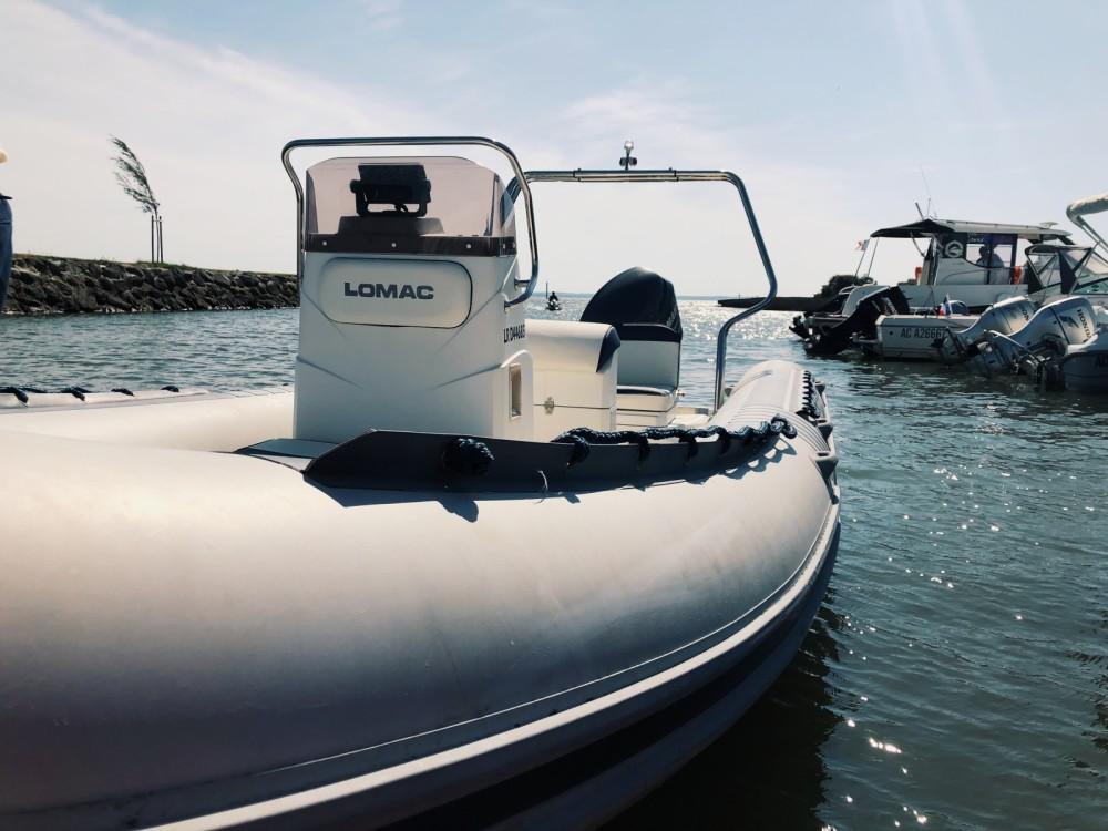 Vermietung Schlauchboot Lomac mit Führerschein
