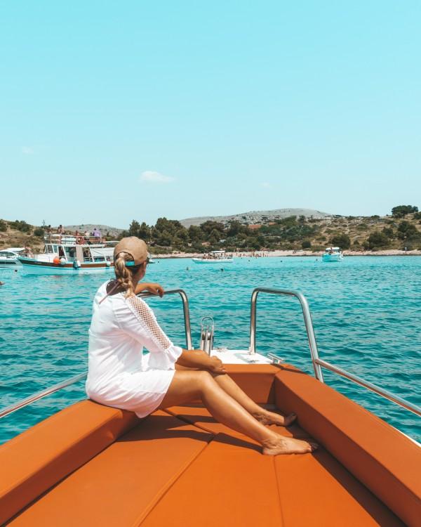 Motorboot mit oder ohne Skipper Axopar mieten in Zadar