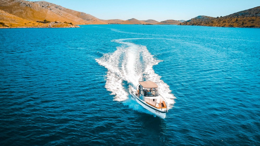 Bootsverleih Axopar 28 T-Top Zadar Samboat