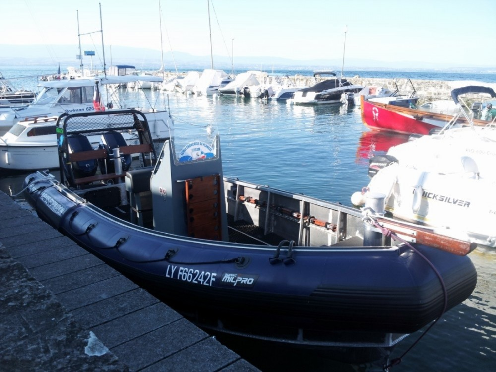 Schlauchboot mieten in Publier - Zodiac zodiac SRA 750 Milpro