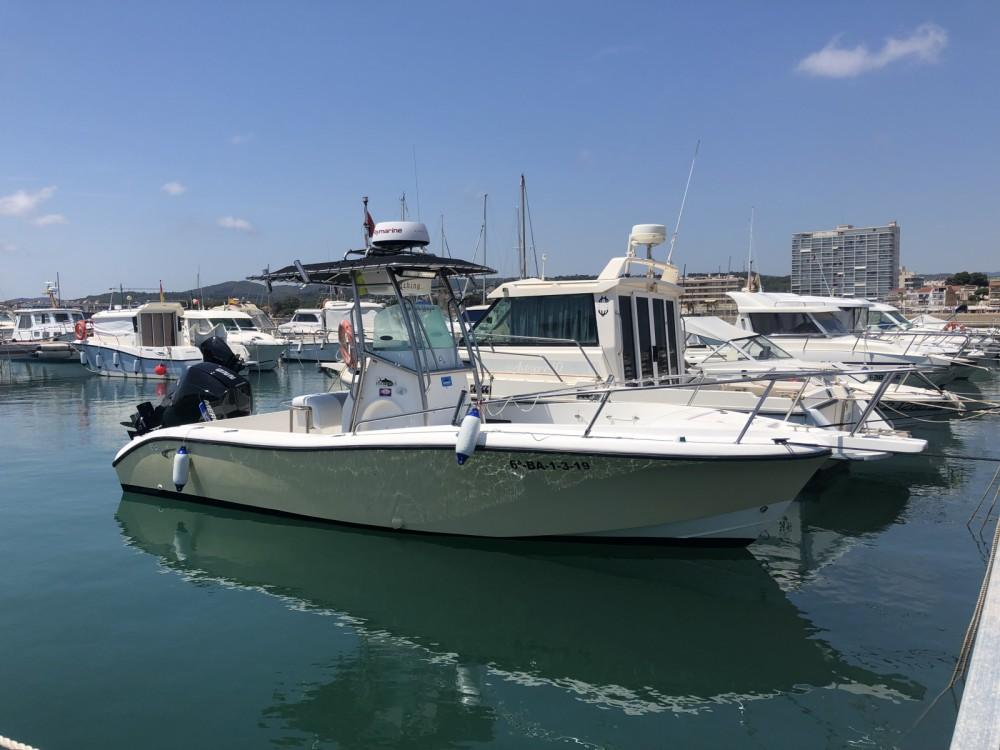 Motorboot mieten in el Vendrell - Fishing Raptor 240