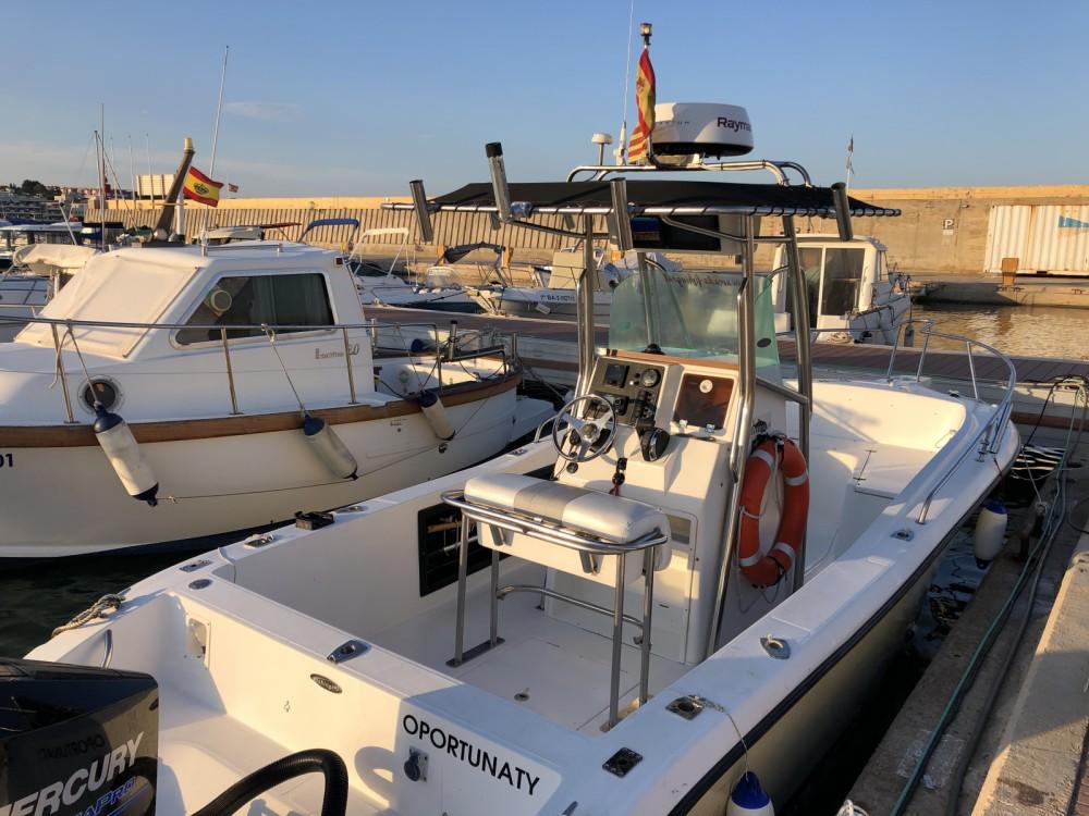 Motorboot mit oder ohne Skipper Fishing mieten in el Vendrell