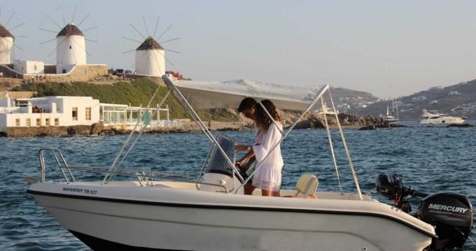 Motorboot mieten in Mykonos (Island) zum besten Preis