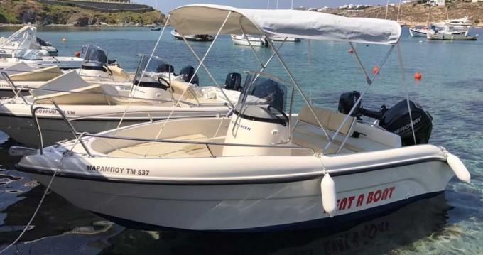 Poseidon Blu Water zwischen Privatpersonen und professionellem Anbieter Mykonos (Island)