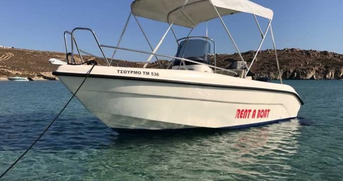 Motorboot mit oder ohne Skipper Poseidon mieten in Mykonos (Island)
