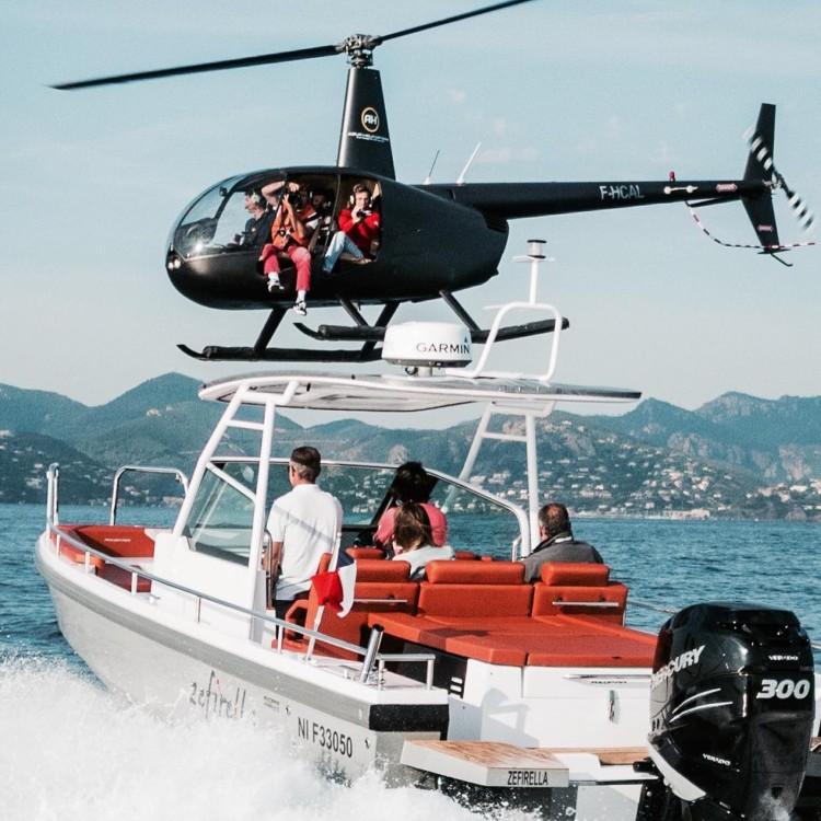 Motorboot mit oder ohne Skipper Axopar mieten in Furnari