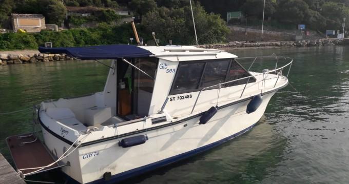 Vermietung Motorboot Gib Sea mit Führerschein