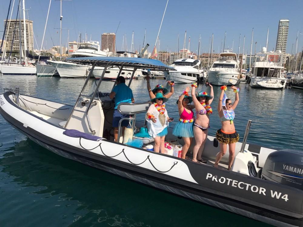 Rayglass Protector 8.5 Cabin zwischen Privatpersonen und professionellem Anbieter Alicante