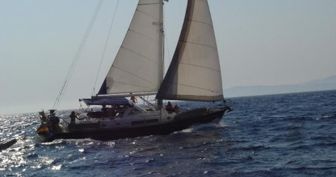 Ein Bénéteau Oceanis 44 CC mieten in Aldán