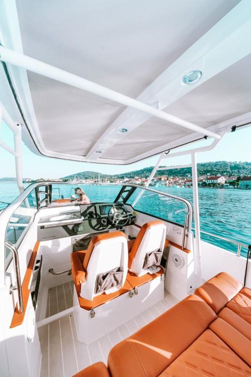 Bootsverleih Zadar günstig 28 T-Top