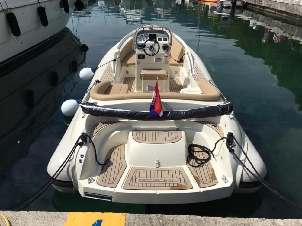 Schlauchboot mieten in Abbazia - Scanner Envy 710
