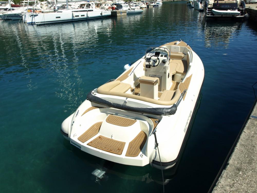 Vermietung Schlauchboot Scanner mit Führerschein