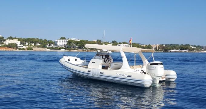 Schlauchboot mit oder ohne Skipper Lomac mieten in Santa Eulària des Riu