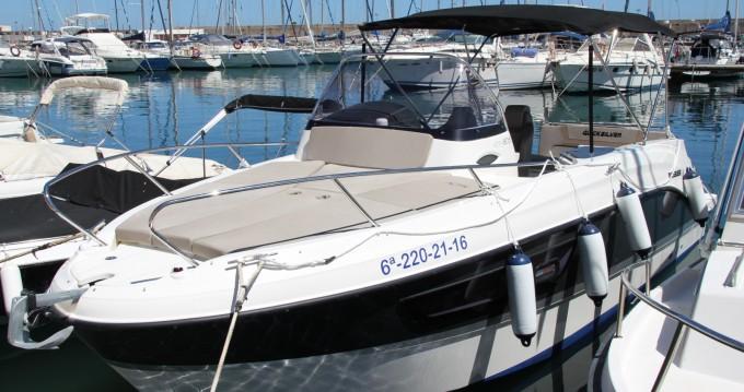 Motorboot mit oder ohne Skipper Quicksilver mieten in Villajoyosa