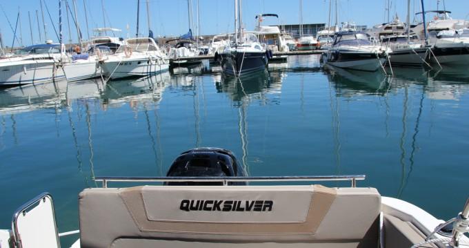 Yacht-Charter in Villajoyosa - Quicksilver Activ 805 Sundeck auf SamBoat