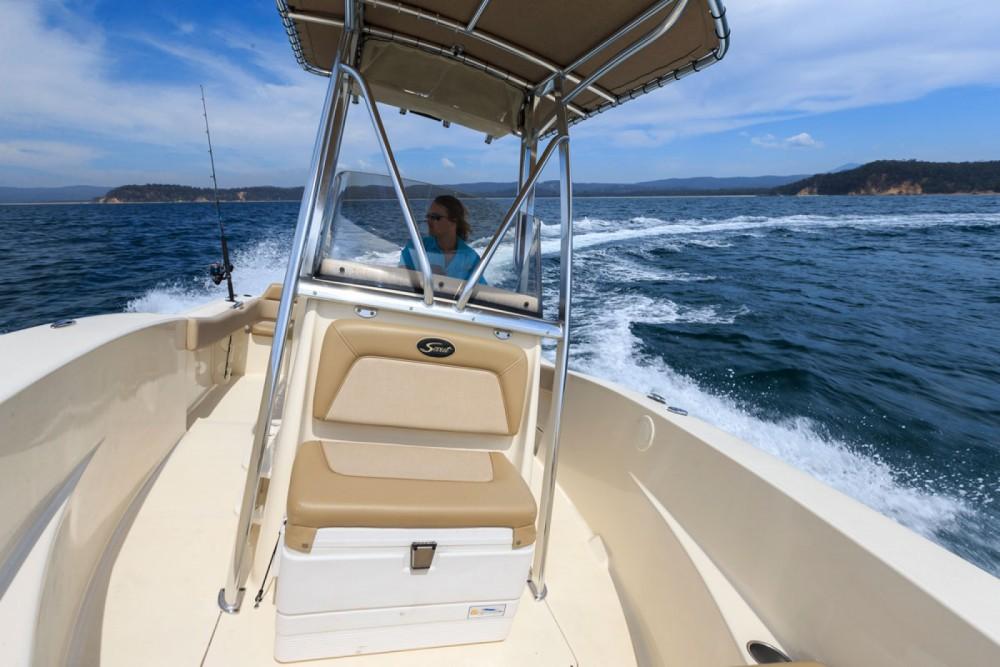 Vermietung Motorboot Scout mit Führerschein