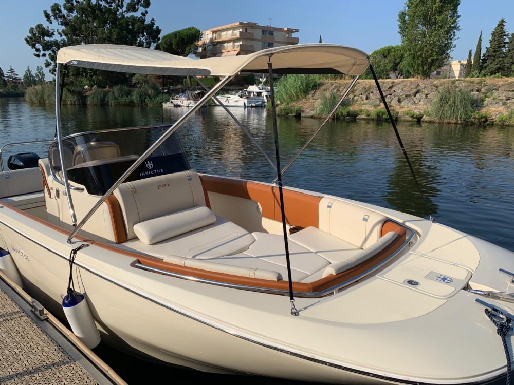 Bootsverleih Invictus  FX 270 Mandelieu-la-Napoule Samboat