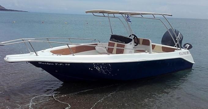 Vermietung Motorboot Elite mit Führerschein