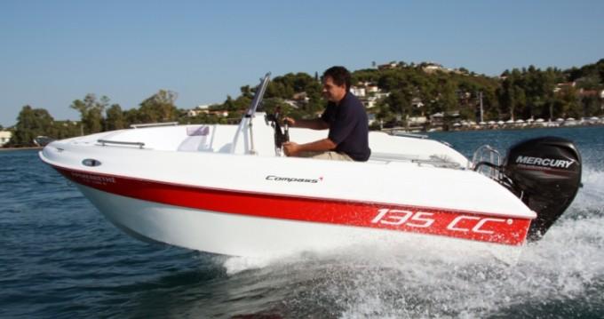 Motorboot mit oder ohne Skipper Compass mieten in Rhodes