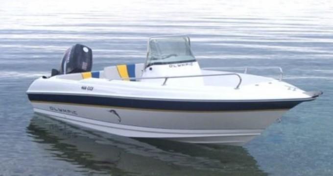 Vermietung Motorboot Olympic mit Führerschein