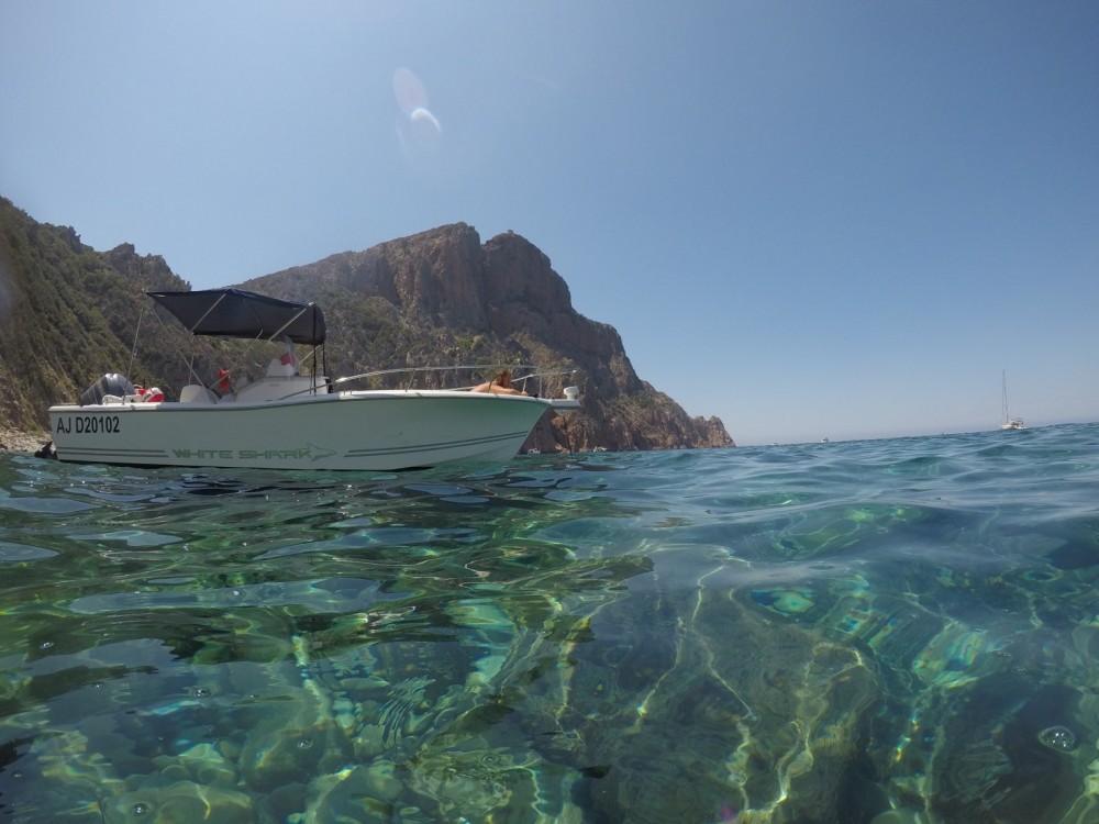 Vermietung Motorboot White Shark mit Führerschein
