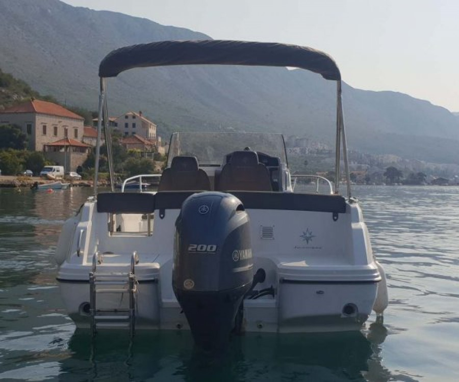 Jeanneau Cap Camarat 6.5 CC zwischen Privatpersonen und professionellem Anbieter Dubrovnik