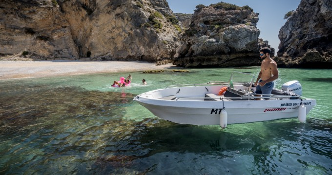 Bootsverleih Pioner Maxi Viking Lisbon Samboat