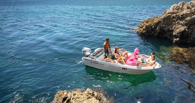 Vermietung Motorboot Pioner Maxi mit Führerschein