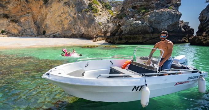 Motorboot mit oder ohne Skipper Pioner Maxi mieten in Lisbon