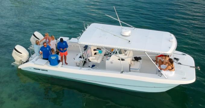 Bootsverleih West Bay günstig 31 ocean cat custom