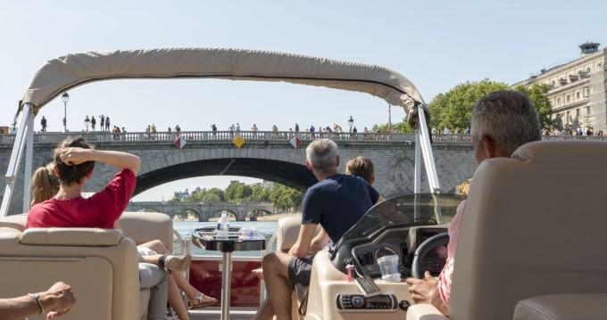 Bootsverleih Suntracker Party Barge 24 Paris Samboat