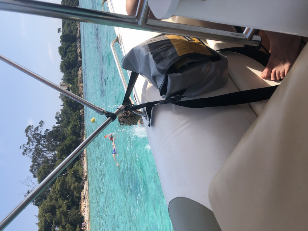 Schlauchboot mieten in Golfe-Juan - Zodiac Medline 550 Strongan