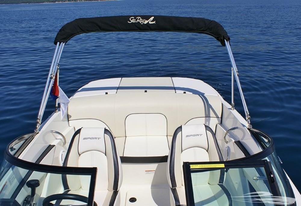 Sea Ray Sea Ray 190 Sport zwischen Privatpersonen und professionellem Anbieter Trau