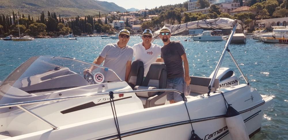 Motorboot mieten in Ragusa Vecchia - Jeanneau Cap Camarat 755 WA
