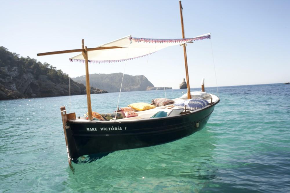 Vermietung Motorboot Llaut mit Führerschein