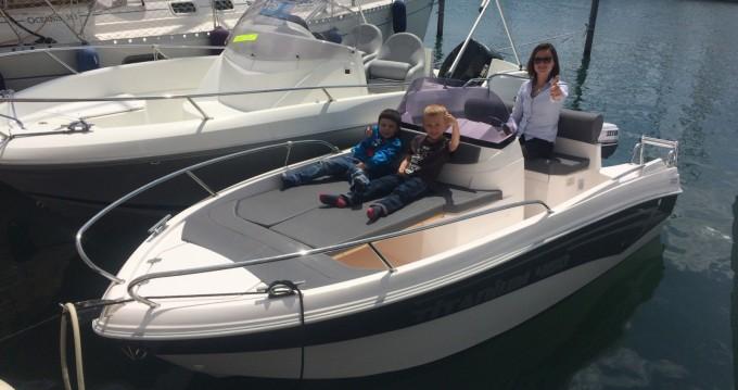 Vermietung Motorboot Polmir  mit Führerschein