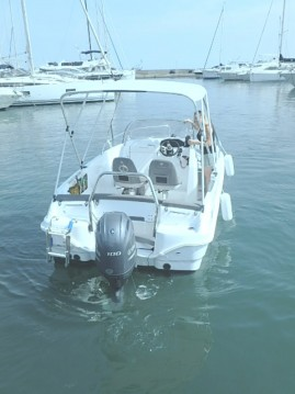 Bootsverleih Jeanneau Cap Camarat 5.5 CC Serie 2 Golfe-Juan Samboat