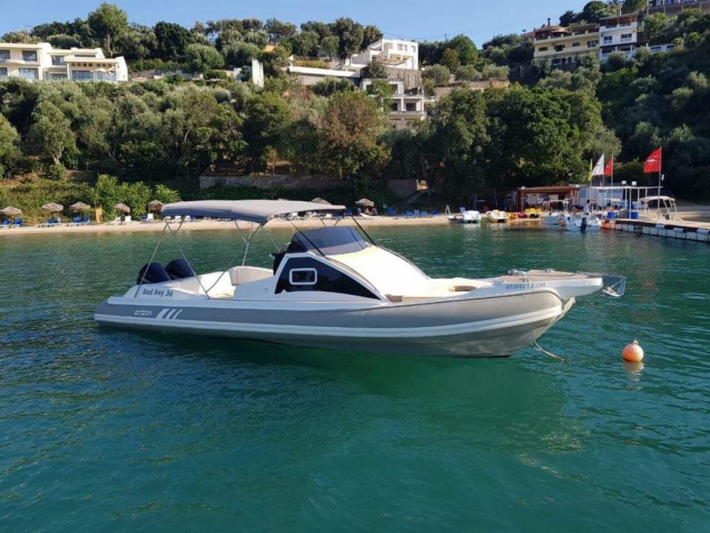 Vermietung Schlauchboot Horizon mit Führerschein