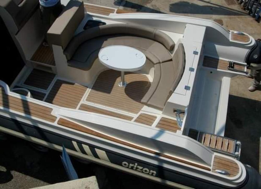 Schlauchboot mieten in Gouvia - Horizon Bad Boy 36