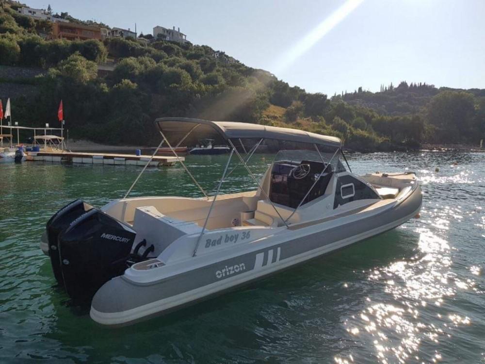 Schlauchboot mieten in Gouvia zum besten Preis