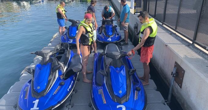 Schlauchboot mit oder ohne Skipper Yamaha mieten in Nerja