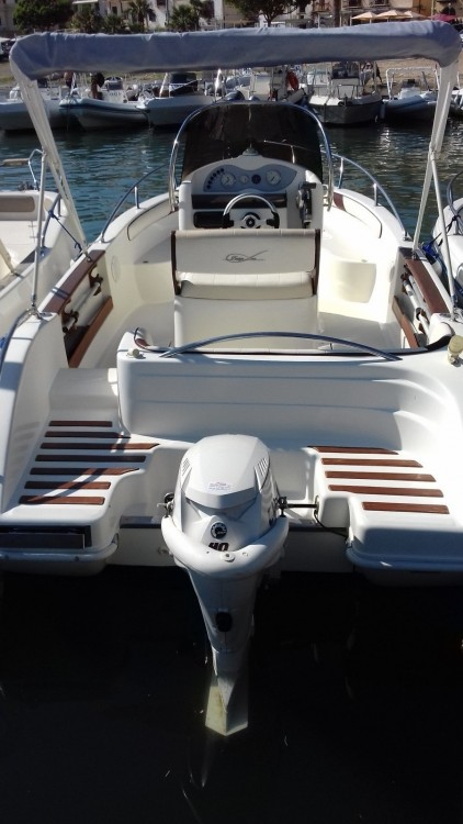 Motorboot mieten in Castellammare del Golfo - Cantieri Ascari Prestige one