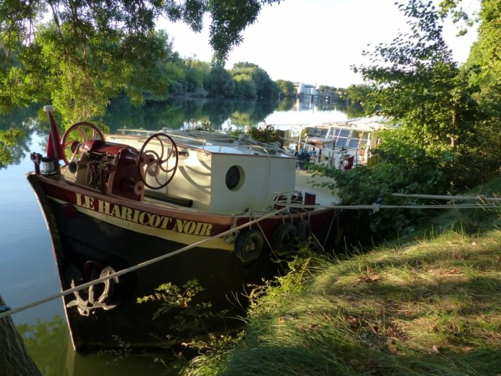 Vermietung Hausboot Peniche mit Führerschein
