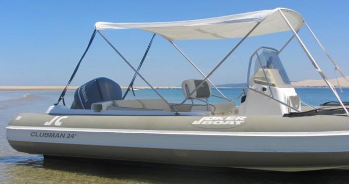 Yacht-Charter in Lège-Cap-Ferret - Joker Boat Clubman 24 auf SamBoat