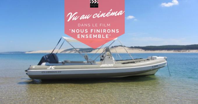 Joker Boat Clubman 24 zwischen Privatpersonen und professionellem Anbieter Lège-Cap-Ferret
