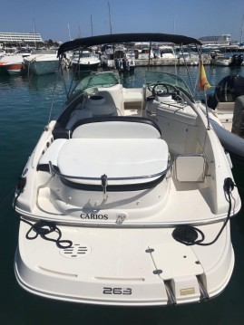 Ein Monterey 263 Explorer mieten in Ibiza Island