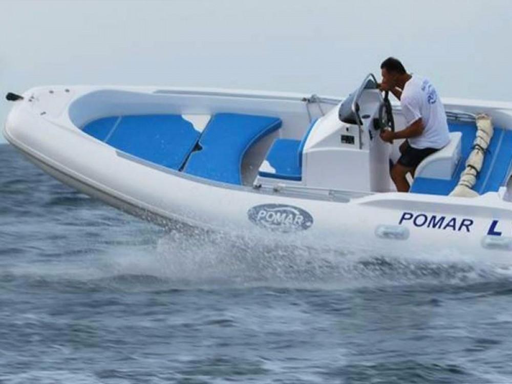 Schlauchboot mit oder ohne Skipper Pomar mieten in Trapani