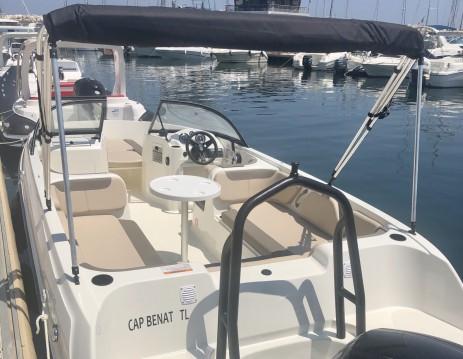 Vermietung Motorboot Bayliner mit Führerschein